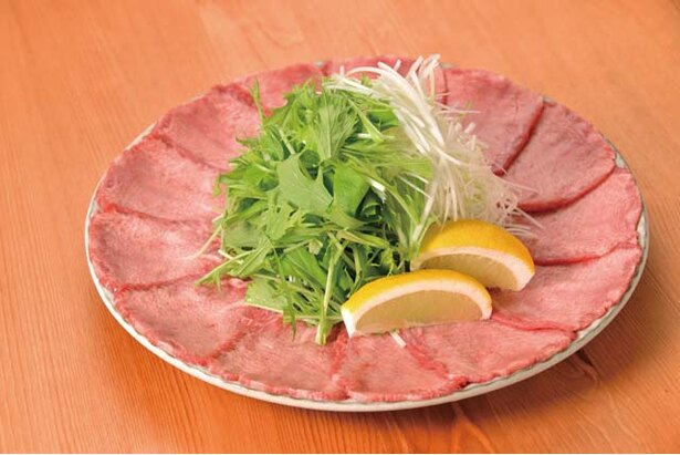 肉バル MISATO / 新鮮な牛タンを和ダシで食べる「タンしゃぶ」(2人前3000円~)。2日前までに要予約