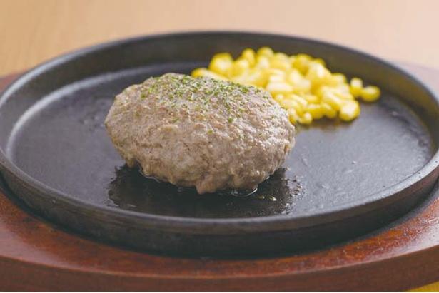 だいちゃんステーキ / 店で手ごねする「だいちゃんハンバーグ」(918円)