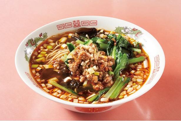 あっさりとした麻辣ラーメン(700円) / 中華レストラン 香港
