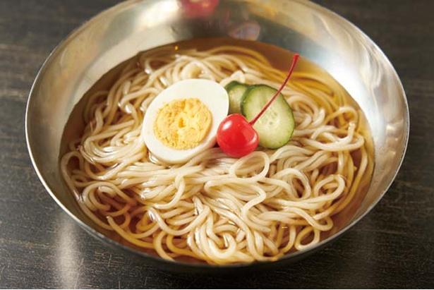 ジャパンビーフセンター 今泉店 / 「冷麺」(745円)。さっぱりとして肉のあとも食べやすい