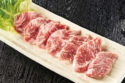 焼肉屋Seiちゃん /「牛めがね」(牛内モモ、734円)は希少部位。旨味があり、ハマるおいしさ