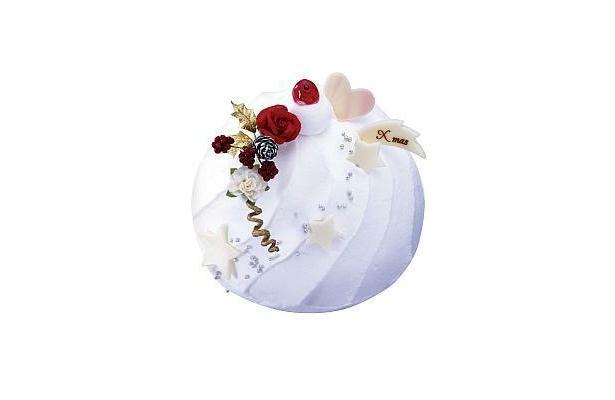 銀のぶどう「チーズ・ホワイト・クリスマス」(1365円、約11cm)