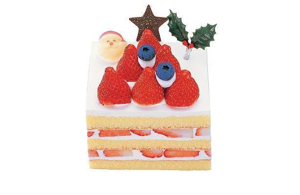 銀のぶどう「苺ツリーのショートケーキ」(1680円、幅約10cm)