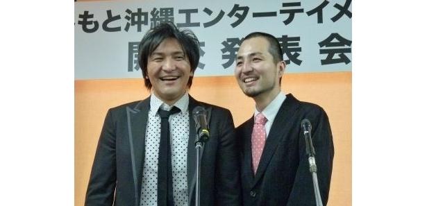 【画像】真栄田の持ちギャグ「いいよっ」も飛び出した爆笑会見の様子はコチラ!