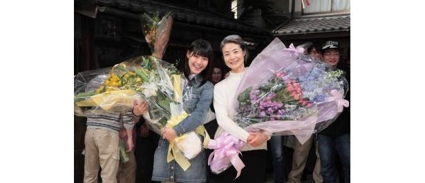 尾道のロケから9カ月、2人はとうとう大阪でクランクアップを迎えた
