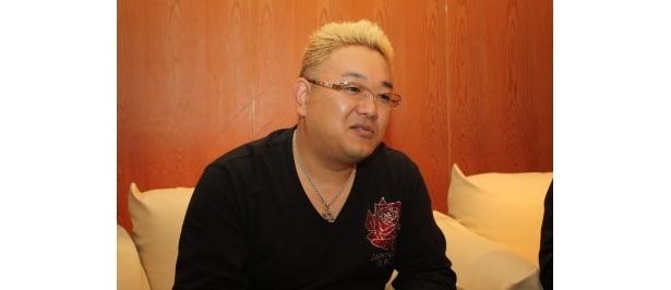 哀川翔との対談では、緊張したことを明かした伊達みきお