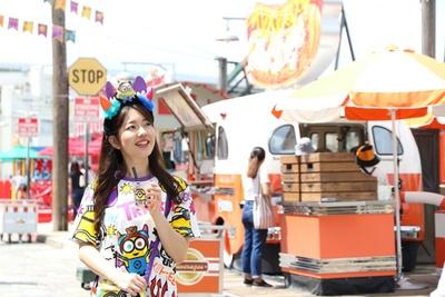 ハロウィーンムードが漂うマーケットは歩くだけでもお祭り気分で楽しい/ユニバーサル・スタジオ・ジャパン