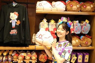 毎年大人気のチャッキーとハロー・キティのコラボ商品が今年も/ユニバーサル・スタジオ・ジャパン