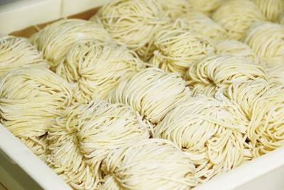 食感にこだわった自家製麺 / 火の国文龍 総本店