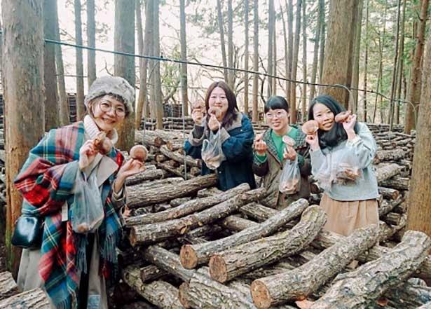 原木シイタケの魅力がたっぷり/内沼きのこ園 (東京・東青梅)