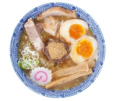 「六厘舎」は濃厚スープと特注太麺の「味玉つけめん」(950円)が有名