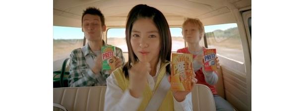 【写真】川島海荷は、普段からいろいろ試しているという「プリッツを食べるシーン」や、全速力で走るシーンなどはこちらから!