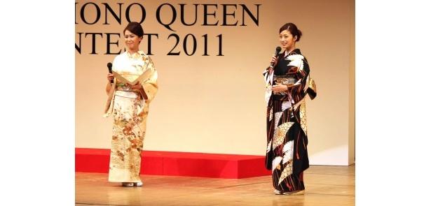 【写真】上戸彩の着物姿と、きものクイーン2011・クイーンなどの写真はこちらから!
