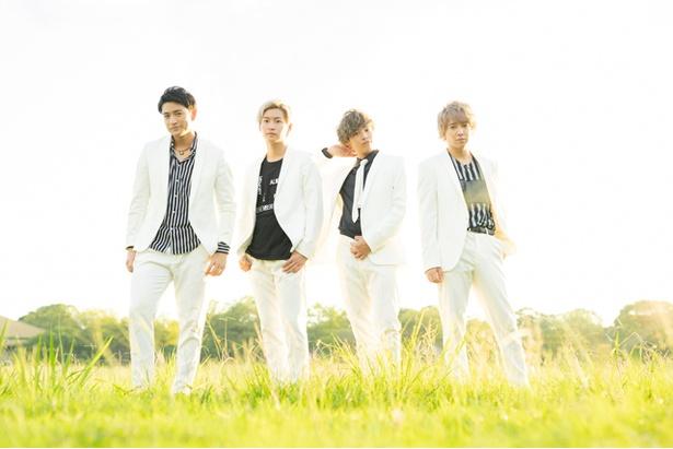 (左から)北田祥一郎、山田健登、中島裕貴、坂田隆一郎