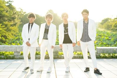 10神ACTORの(左から)中島裕貴、坂田隆一郎、山田健登、北田祥一郎