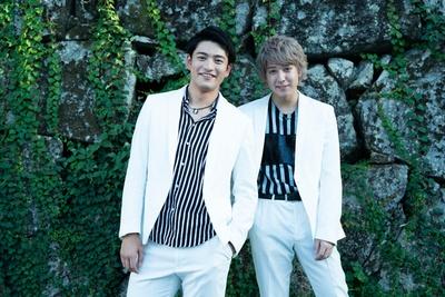 10神ACTORの北田祥一郎(左)、坂田隆一郎(右)