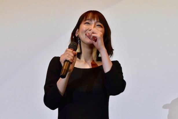 地元京都の観客のエールに思わず笑顔