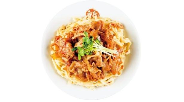 「魁 肉盛りつけ麺 六代目けいすけ」(東京・湯島)の「肉盛りつけ麺」(780円)