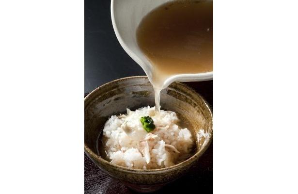 【写真】さすが銀座! 鯛茶漬けを楽しむラーメンも!