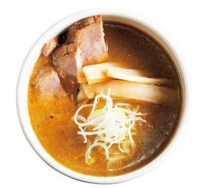「銀座 いし井」のトンコツ魚介のつけ汁