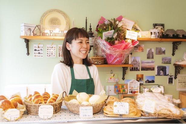 「特別な日だけではなく、お客さまの日常に溶け込むような菓子をそろえています」と高木さん