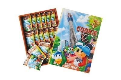 ディズニーとのWライセンス商品「ココアクッキー建設中」(18枚入り/1050円)