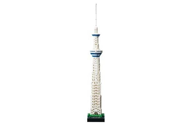 「nanoblock 東京スカイツリー(R) デラックスエディション」(9660円)