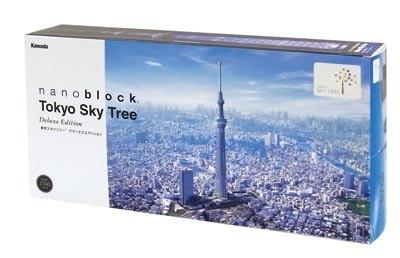 「nanoblock 東京スカイツリー(R) デラックスエディション」(9660円)パッケージ