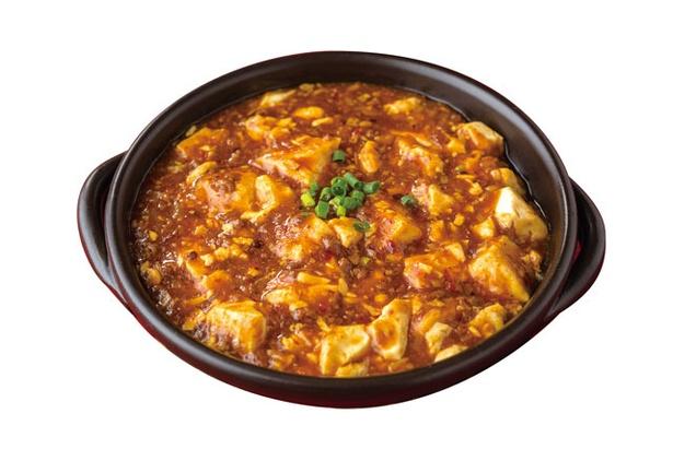 中国名菜 儷郷 / 人気メニューの「麻婆豆腐」(1620円)。子供でも食べやすい辛さで調整するファンの多い一品