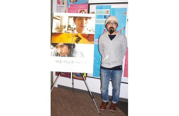 シネセゾン渋谷閉館にあたり、クロージング作品『リンダ リンダ リンダ』の上映前にトークショーを行った山下敦弘監督