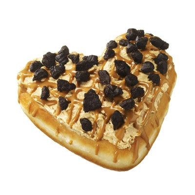 ふわふわ口どけの良いクリームの苦味と、甘みのあるモカチョコレートの組合せ「チョコ モカ ハート」