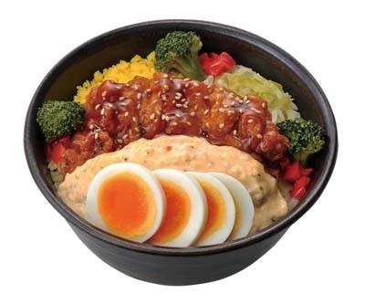 玉ひで8代目店主監修の「チキン南蛮丼」(550円)