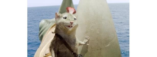ネズミの族長・リーピチープの勇敢さにほれぼれ