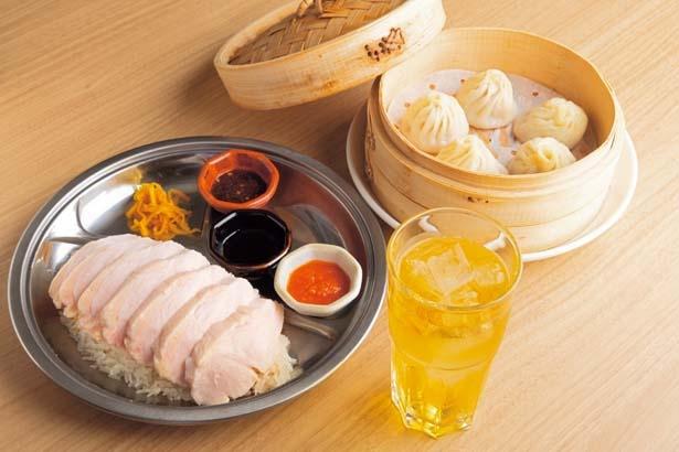 「果香×ツル商店」のコラボセット(1382円)/UMEDA FOOD HALL