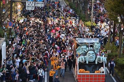 国内最大規模の仮装パレード