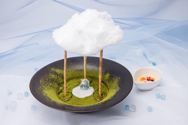【写真】驚愕の立体構造、雲を表現した「今から晴れるよティラミス」ほか全18メニューを公開