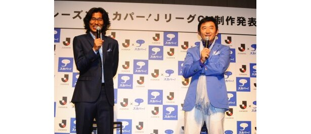 【写真】石田純一はサッカー選手としての中澤佑二選手を「すごく頼りになる大黒柱」と表現