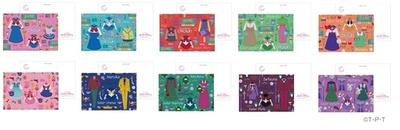 「セーラームーンカフェ2019 ポストカード」(各 330円)