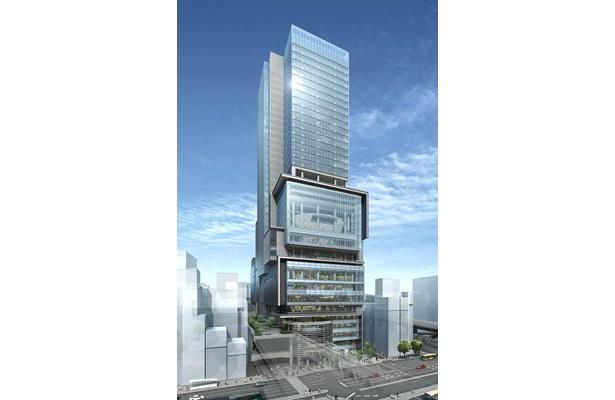 渋谷ヒカリエの完成は2012年春! 東急百貨店を中心とした店舗や、約2000席を備えたミュージカル劇場などを備えた巨大複合ビルだ