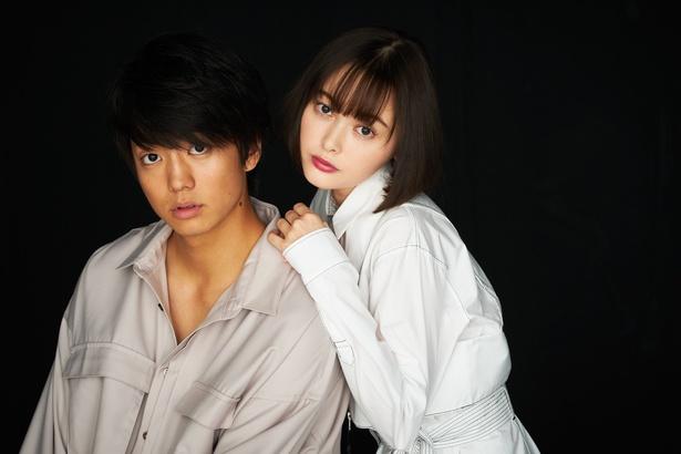 『惡の華』で共演した伊藤健太郎と玉城ティナ