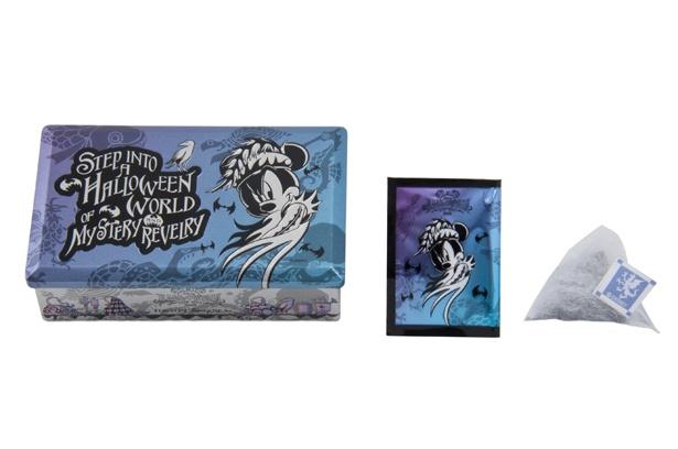 「ブルーブレンドハーブティー&ハニーレモンシロップ」(1200円)。パッケージのデザインもオシャレ