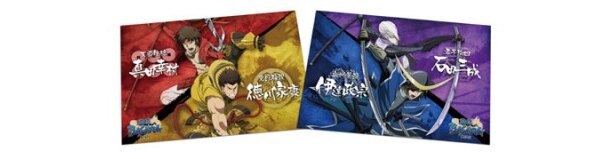 【写真】戦国武将4人の姿が格好良いポストカードセット