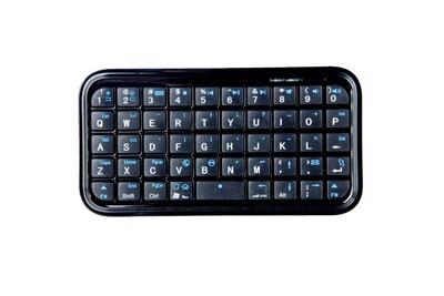 コードレスでミニサイズ! 長文メールもラクラクキーボード「Mini Bluetooth(R) Keyboard」(1980円)