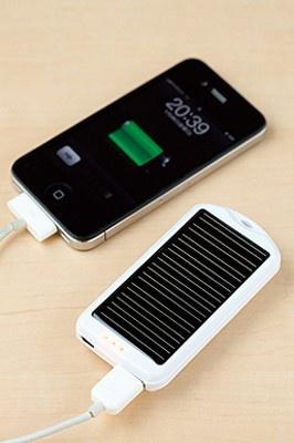 ソーラー充電器「mobile solar」(3980円)