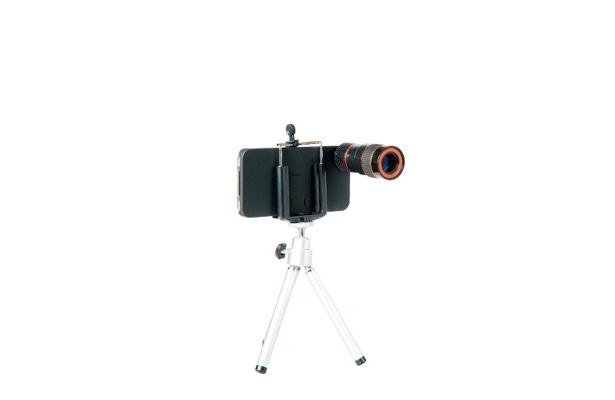 「iPhone4用望遠レンズセット」(2980円)
