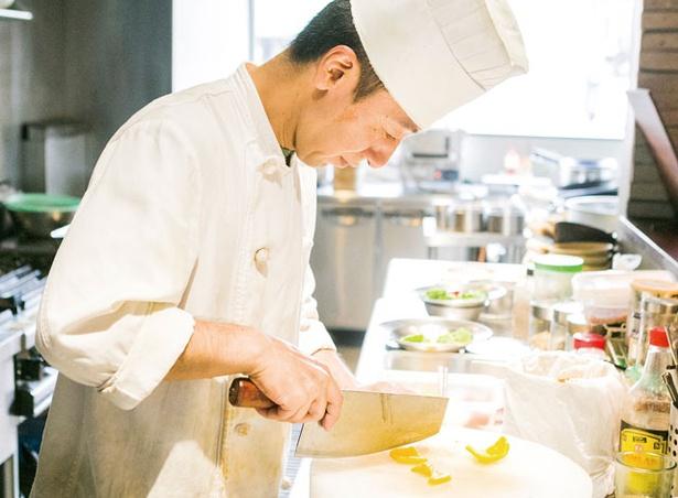 台湾餐廳 有樂 / 熟練の技を持つシェフはこの道30年以上