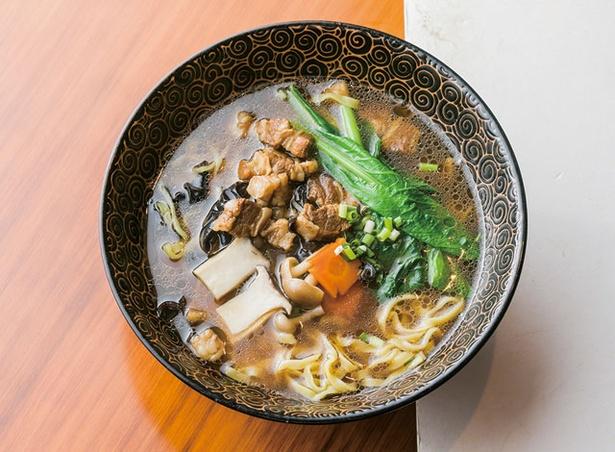 中華料理 金鼎 / 清湯牛肉麺セット(900円)