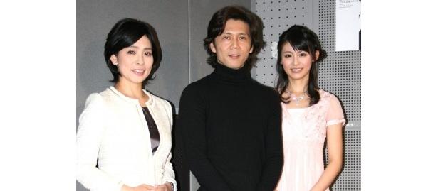 「番組ではまず、音楽の由来、場面の内容を丁寧に伝えたい」と語る熊川(写真中央)