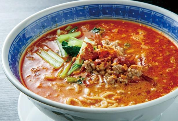 熊猫食堂 / 鶏のコクが生きる極上麺に、山椒がピリリと刺激的「担々麺」(850円)