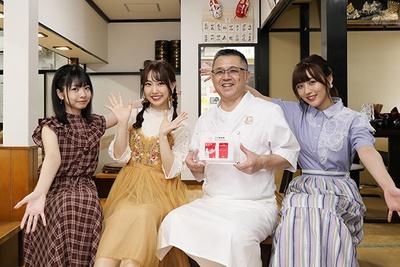 SKE48のメンバーがミシュラン一つ星の「ガチ麺道場」を訪問!